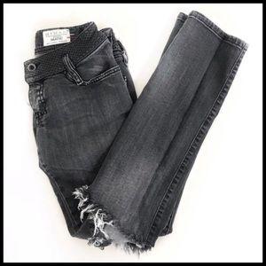 Diesel grey matic wash jeans